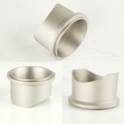 "50MM Tial Style Flange - For 2-1/2"" Tube - Titanium"