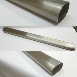 "24"" (2 Feet) Straight Oval Tube"
